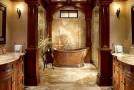 bronze bath