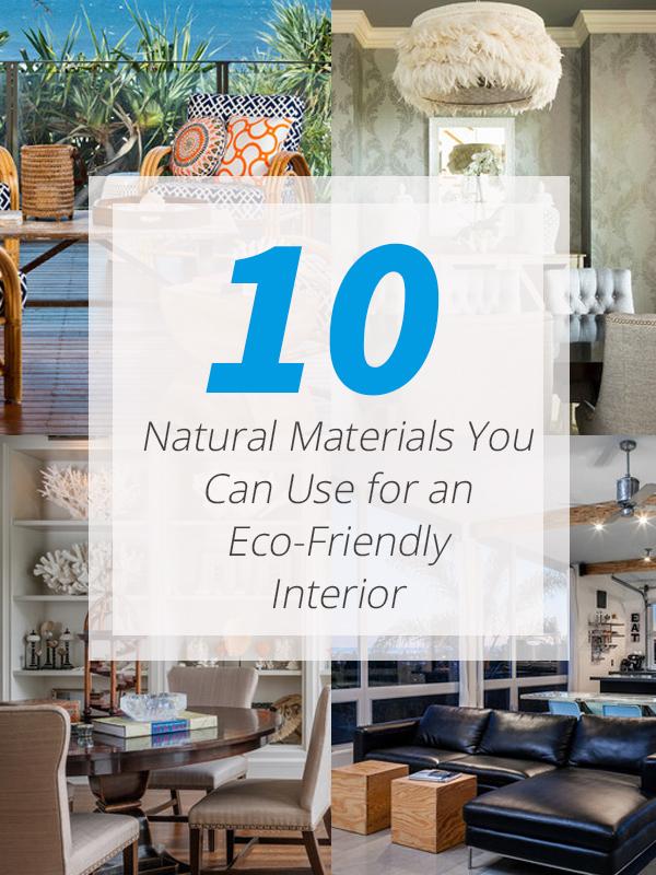 tips natural materials