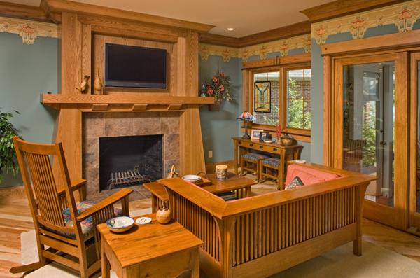 20 Comfortable Oak Living Room Furniture | Home Design Lover