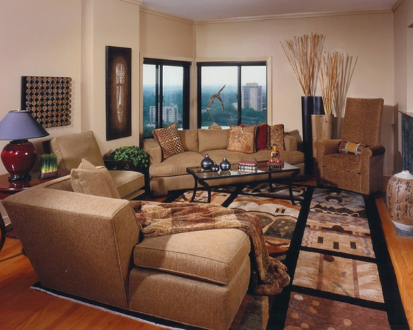 bamboo-themed living rooms - 20 Pleasant Bamboo-Themed Living Rooms Home Design Lover