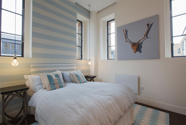 wall deer head bedroom