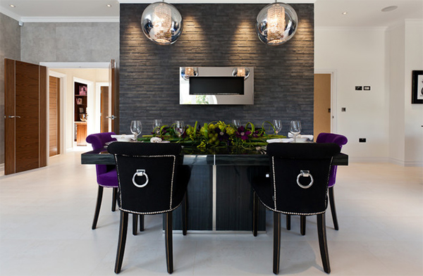 Velvet Dining Chairs in 20 Sophisticated Dining Rooms | Home ...