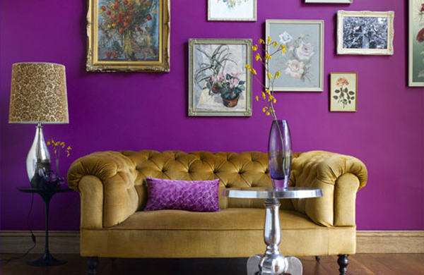 purple walls