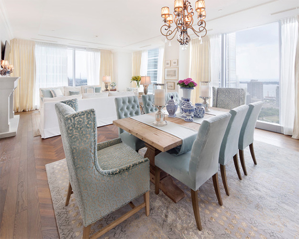 20 Transitional Dining Rooms with Carpeted Flooring | Home Design ...