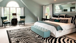 zebra bedroom
