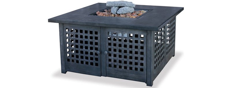 Contemporary Square Fire Pits