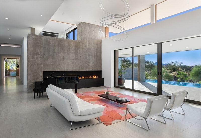 kim residence contemporary living room