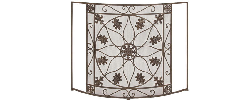 Metal Fire Screen