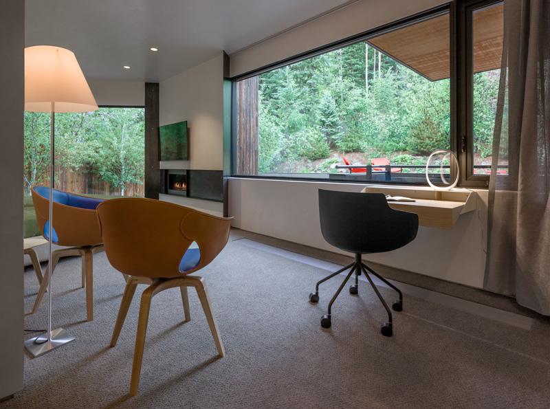 Blackbird House workspace