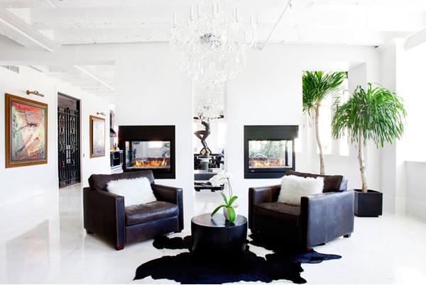 corner living space