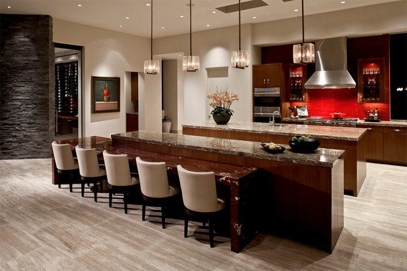 luxurious contemporary kitchen