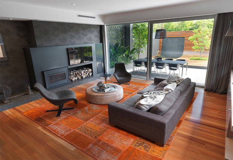 brighton home trendy style living room