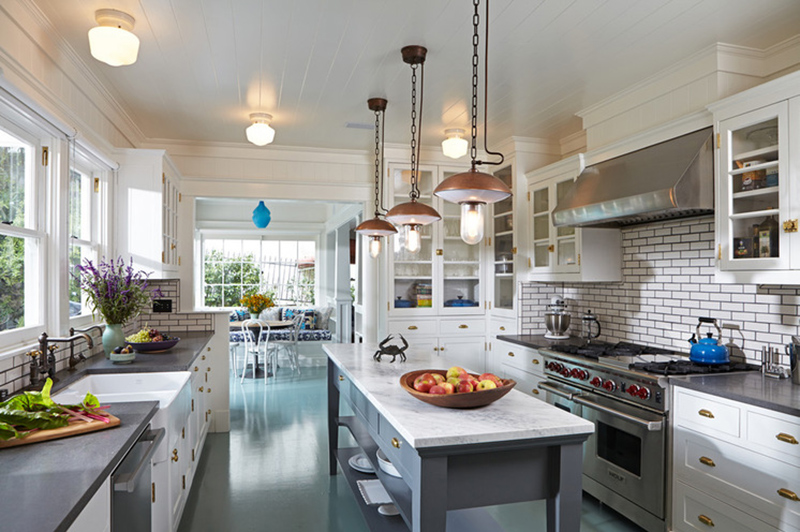 home renovation center island lighting