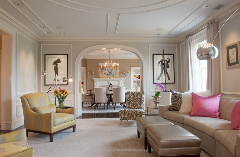 Metropolitan Chic in Boston's Tony Back Bay