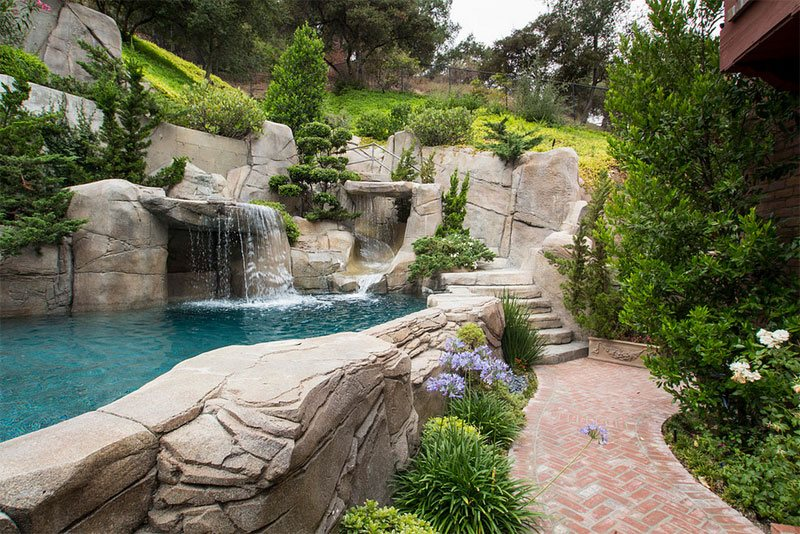 Affordable Pool Landscaping Ideas affordable landscaping ideas. rock landscaping ideas outdoor