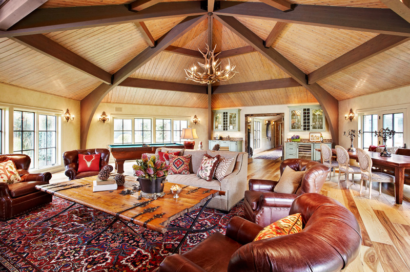Faszinierende antler kronleuchter in 22 interessante wohnzimmer ...