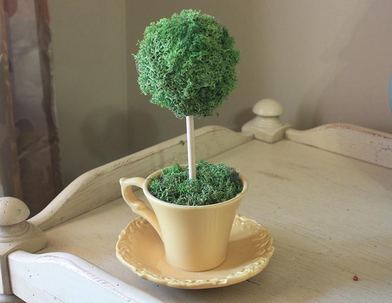 Tea Cup Topiary