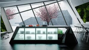ultramodern kitchen