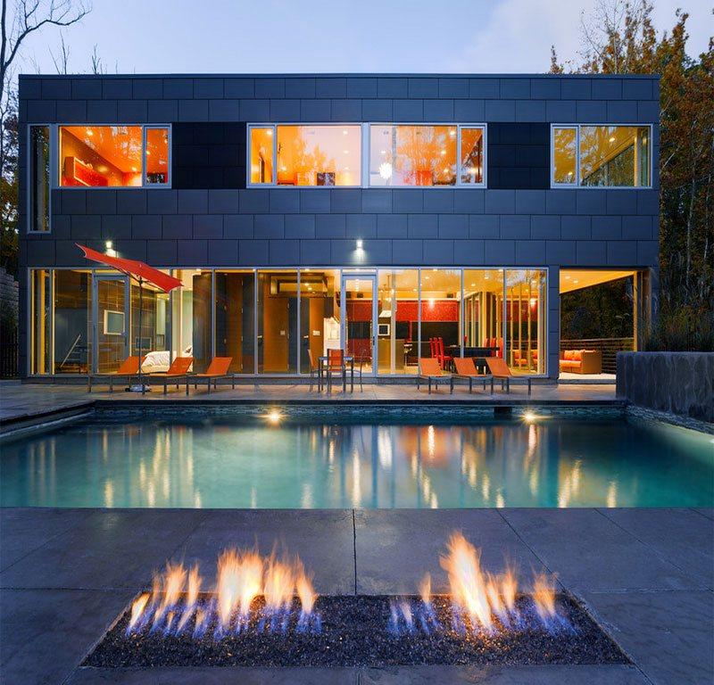 modern fire pit tips