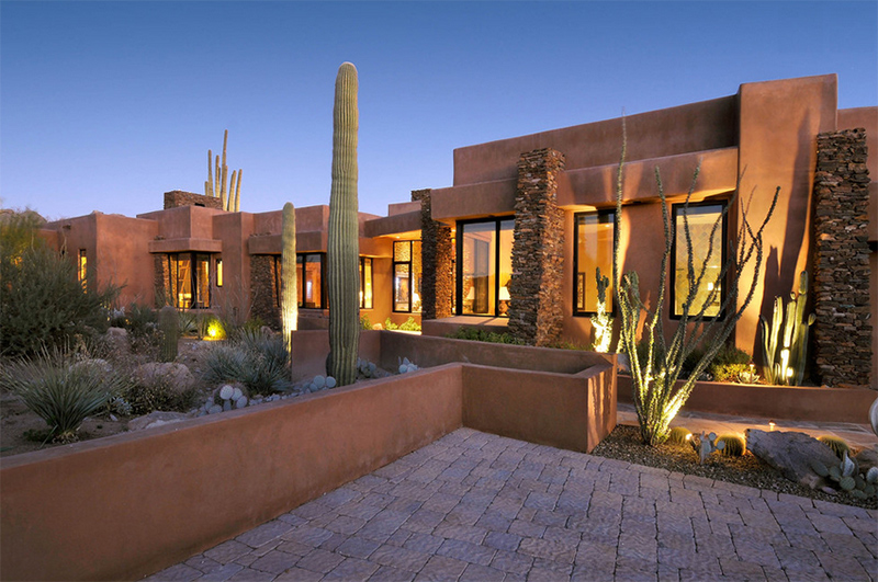 22 earth toned southwestern houses inclined to nature for Southwest architecture