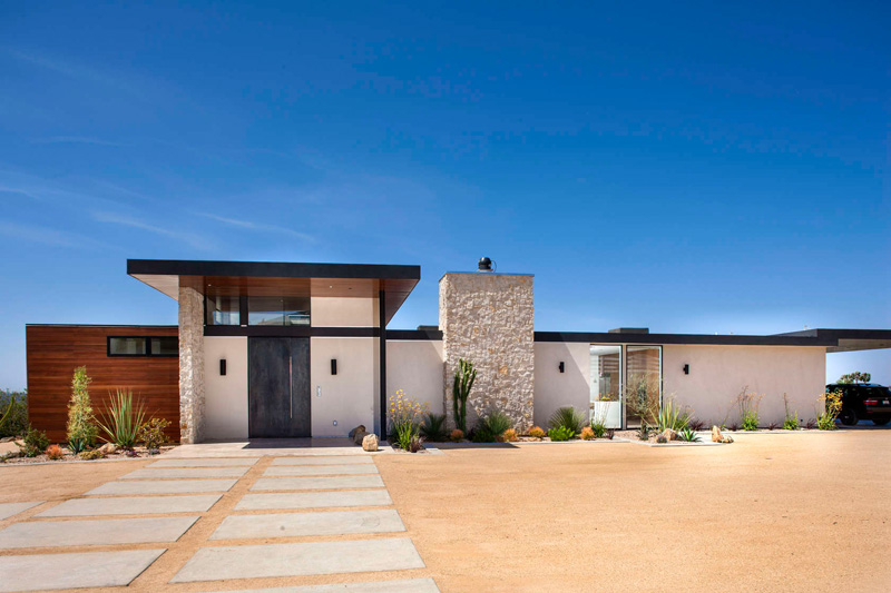 California House exterior