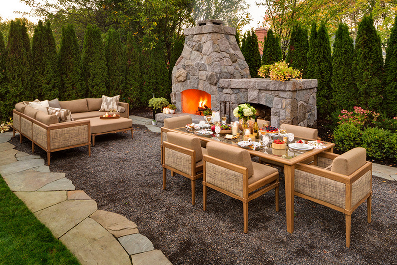 elegant outdoor furniture