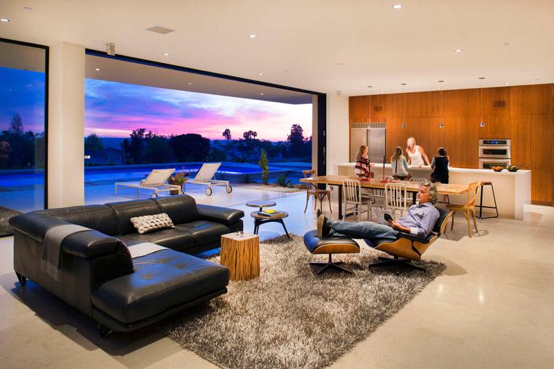 California House interior