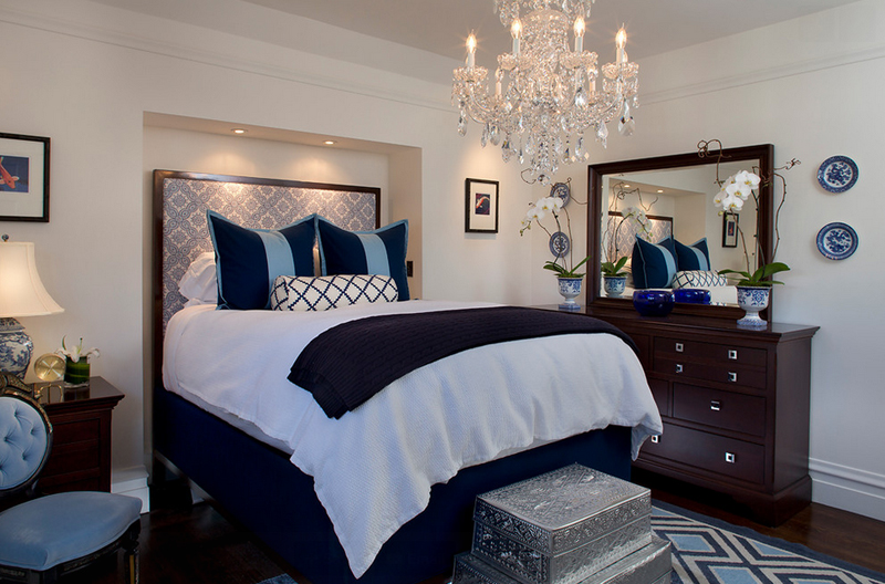 Tineke Triggs. 25 Contemporary Bedrooms with Stunning Crystal Chandeliers   Home