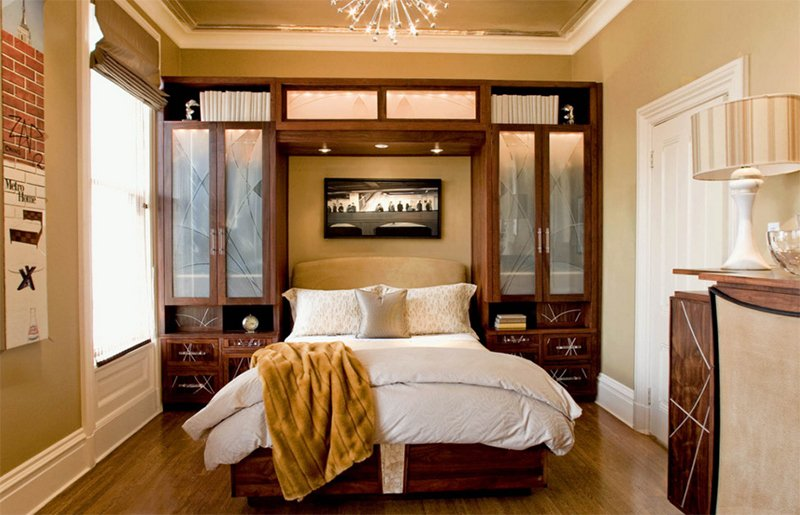 Guest Bedroom in Modern Victorian