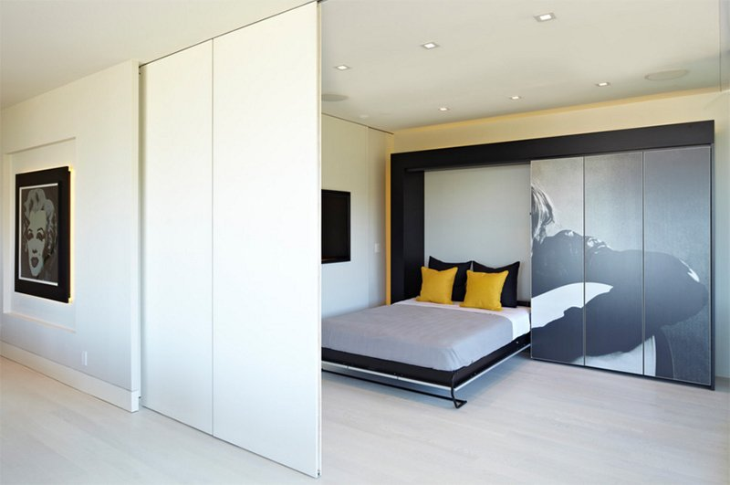 modern showbiz by sb la - Murphy Bed Design Ideas