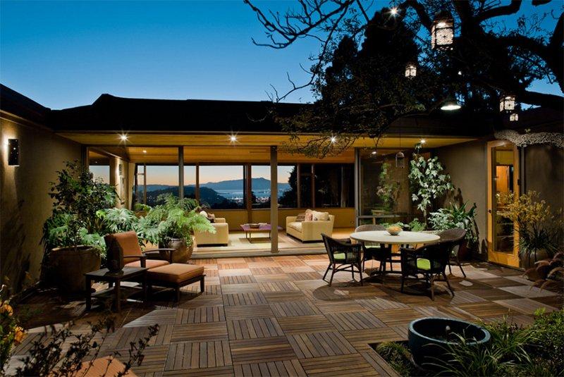 deck floor design