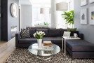 gray living room couch