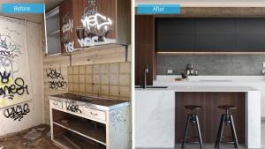 kitchen grafiti