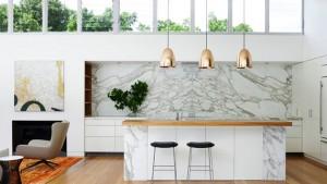 lighting over kitchen