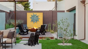 midcentury outdoor