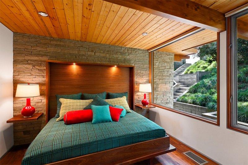 Mid Century Modern Residence. 25 Bright Mid century Modern Bedroom Designs   Home Design Lover