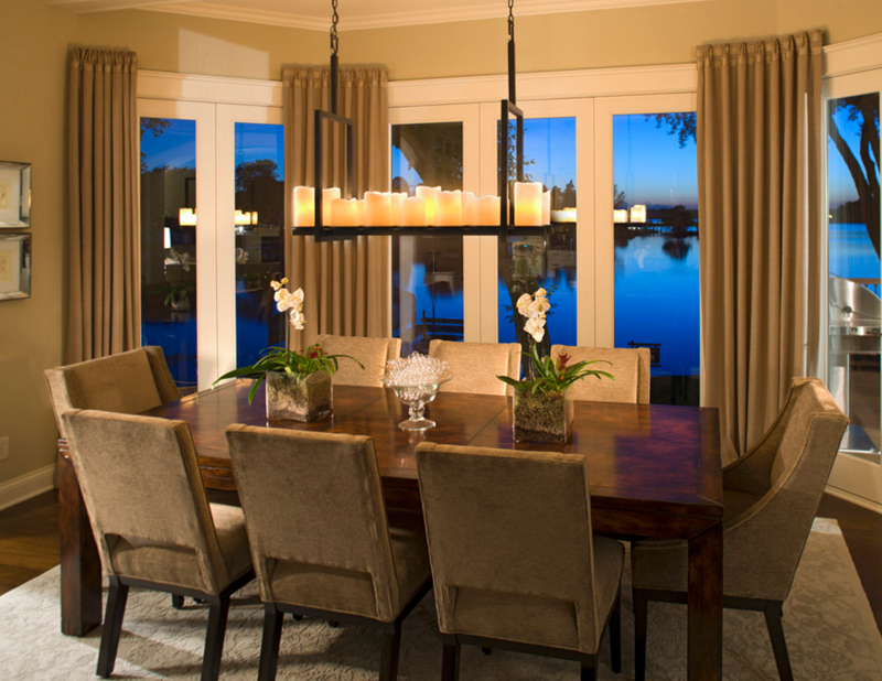 25 Gorgeous Candle Chandeliers in the Dining Rooms – Dining Room Candle Chandelier
