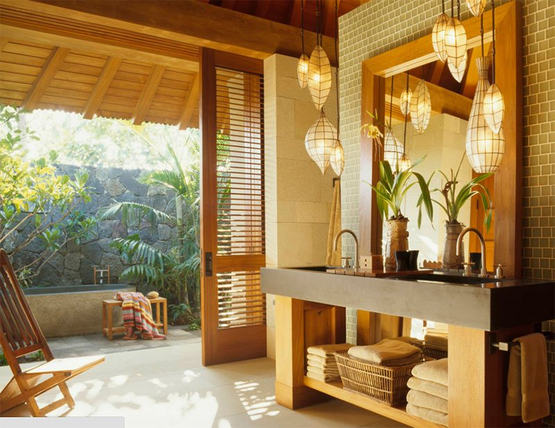 superb tropical bathroom ideas great ideas