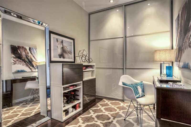 Design Project-Market St. Condo Home Office