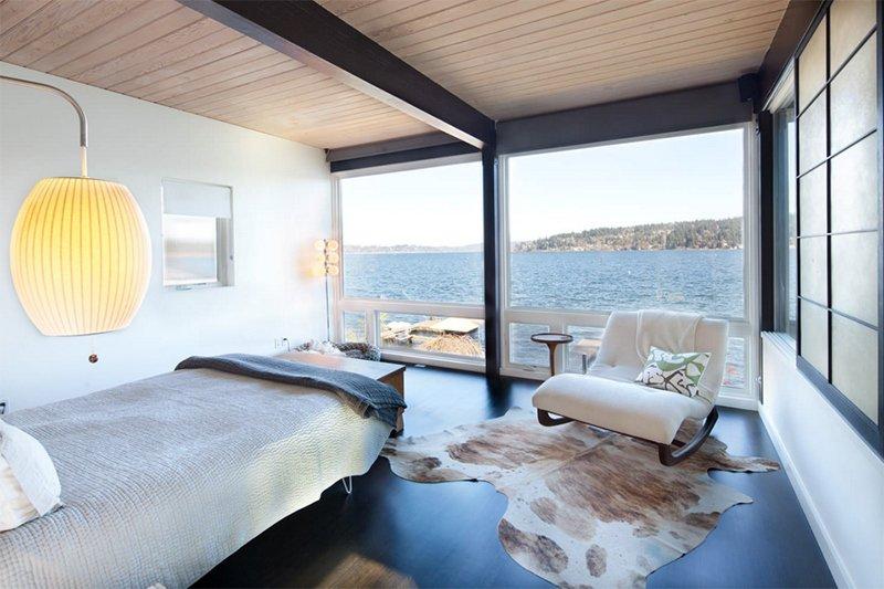 Waterfront Mid century Modern. 25 Bright Mid century Modern Bedroom Designs   Home Design Lover