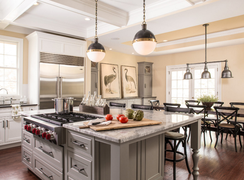 kitchen counter lamps