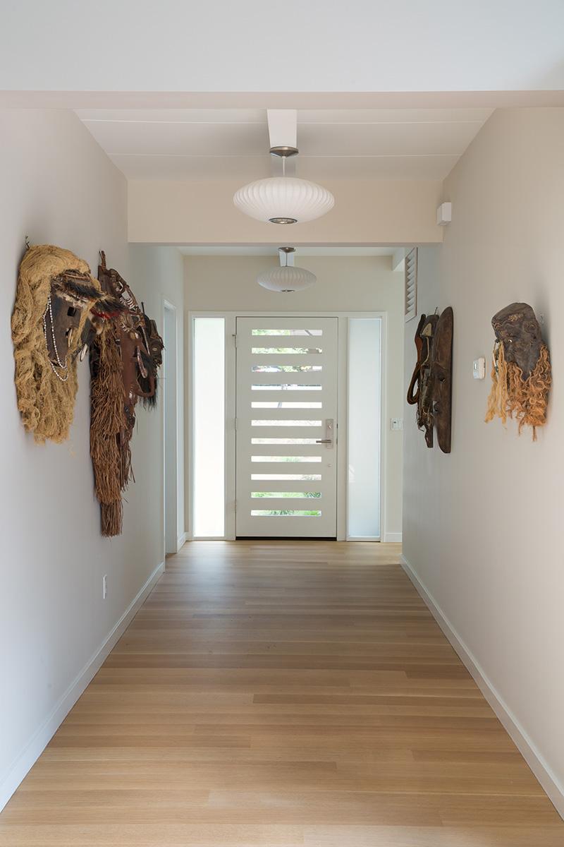 Midcentury Remodel hallway