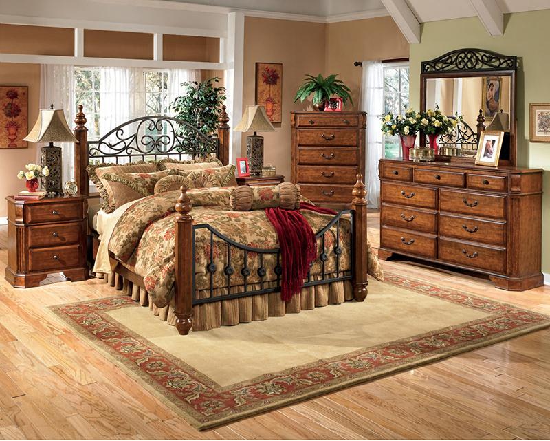 tropical furniture bedroom set light wood vera