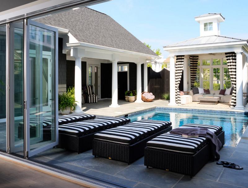 pool chair material