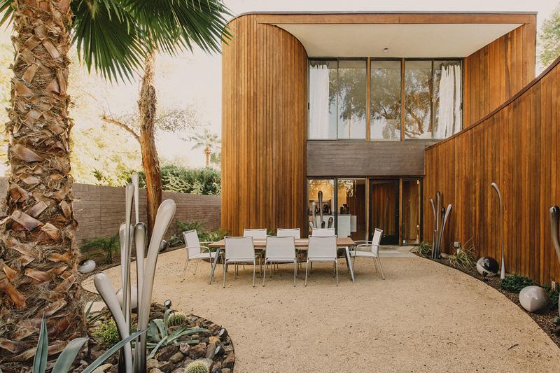 Redwood Clad Home