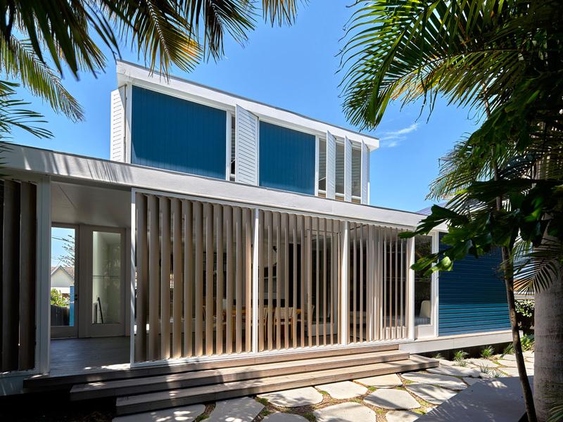Beach House rear