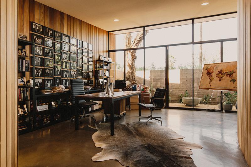 Redwood Clad Home interior