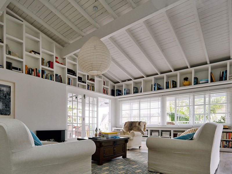Beach House ceiling