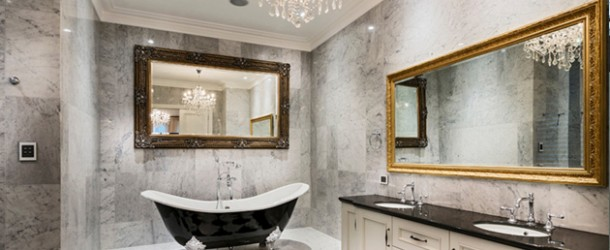 Bathroom Crystal chandelier
