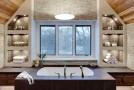 bathroom vaulted